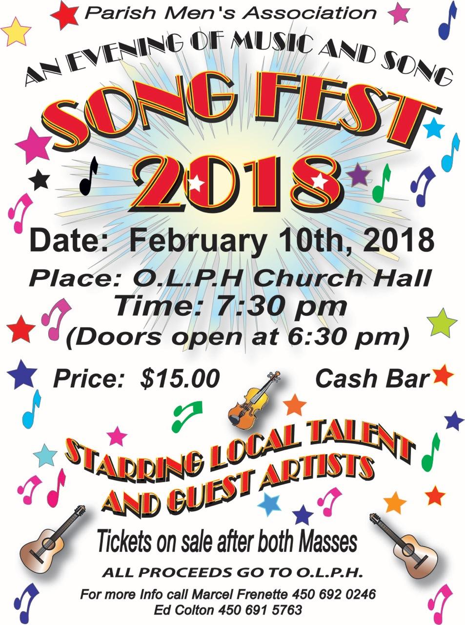 Song Fest 2018